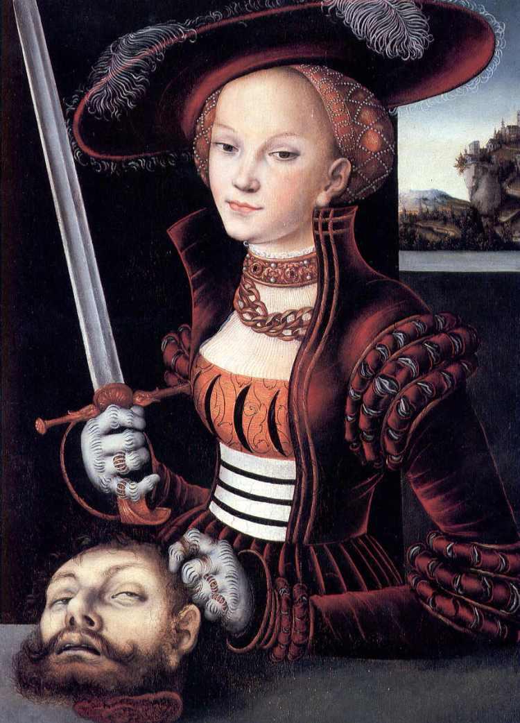 Cranach, Judith and Holofernes IV