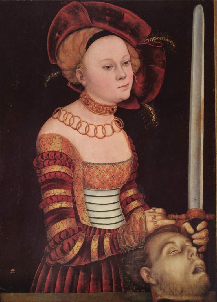 Cranach, Judith and Holofernes V