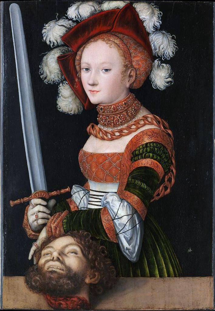 Cranach, Judith and Holofernes VI