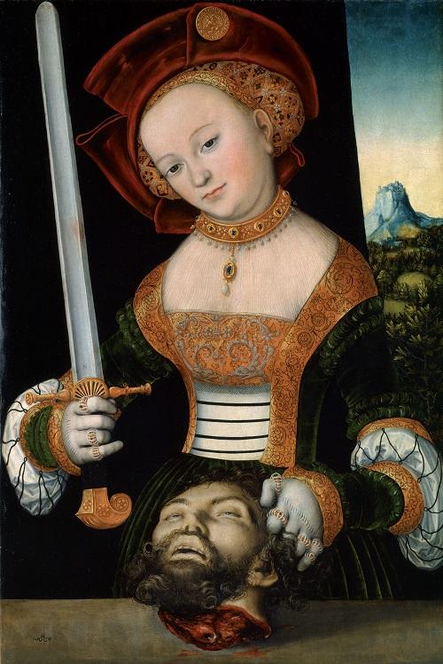 Cranach, Judith and Holofernes