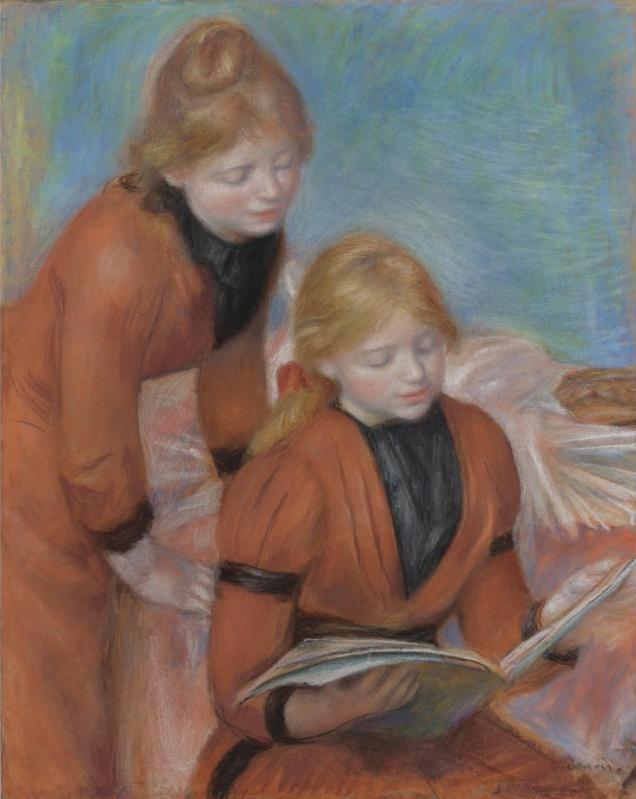 Renoir, La Lecture