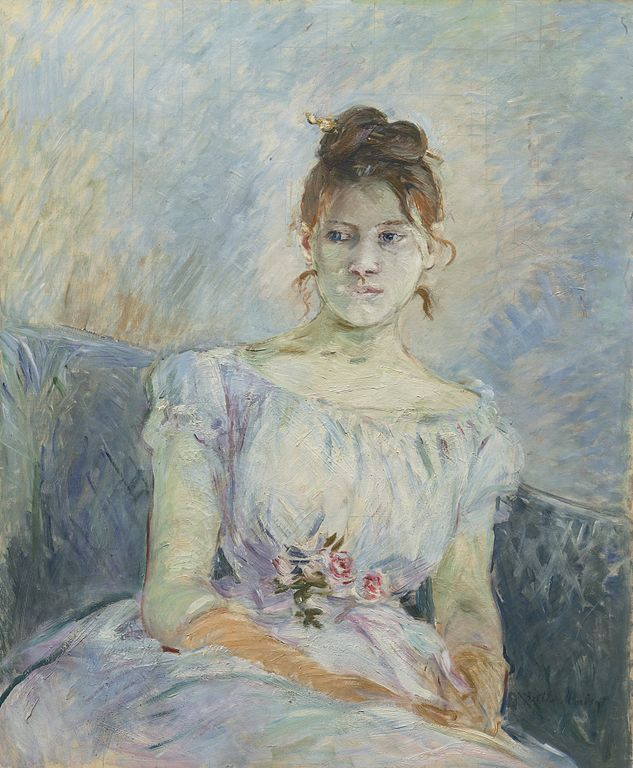 Berthe Morisot, Paule Gobillard en robe de bal