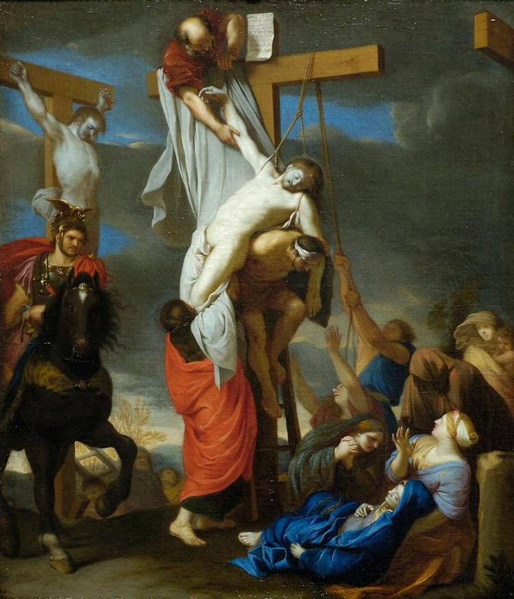 Charles Le Brun, the descent from the cross