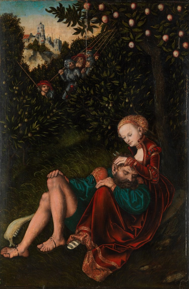 Cranach, Samson and Delilah
