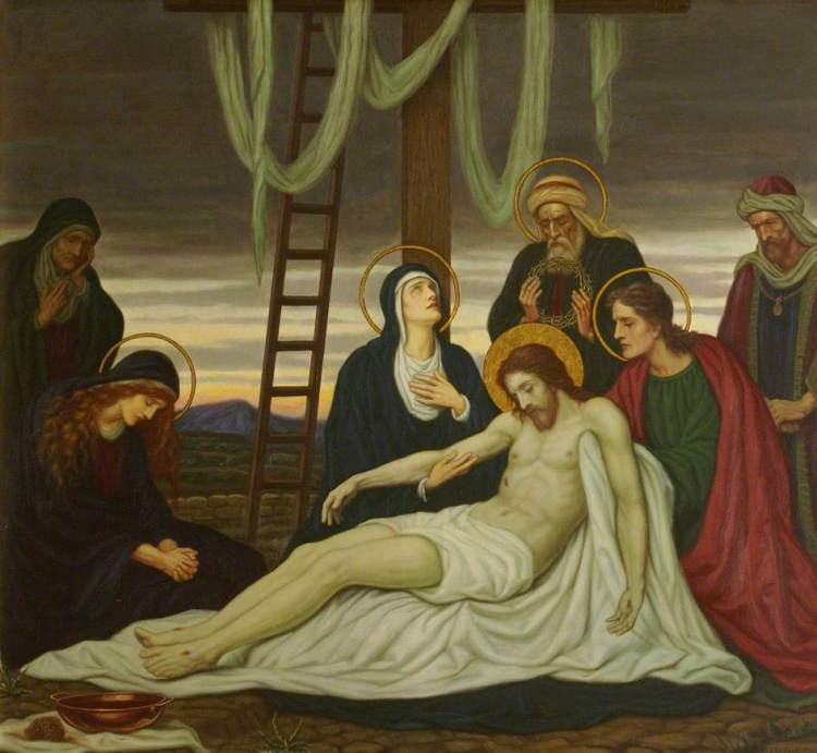 EAF Prynne, Jesus is taken down from the cross