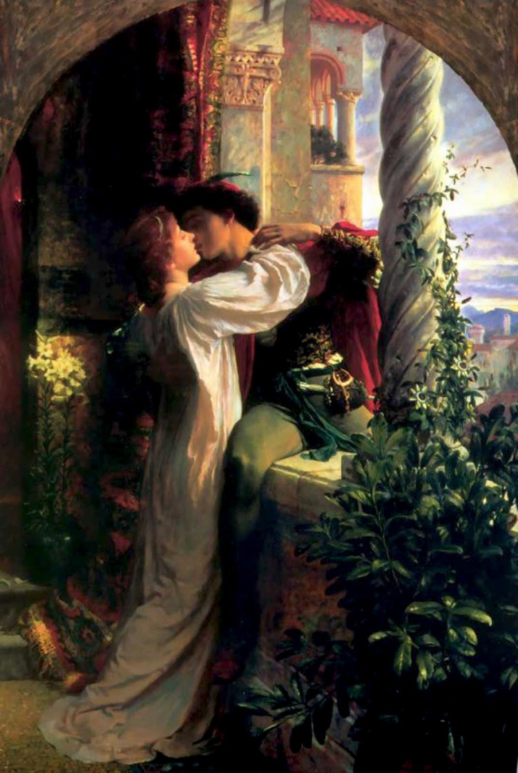 Frank Dicksee, Romeo and Juliet