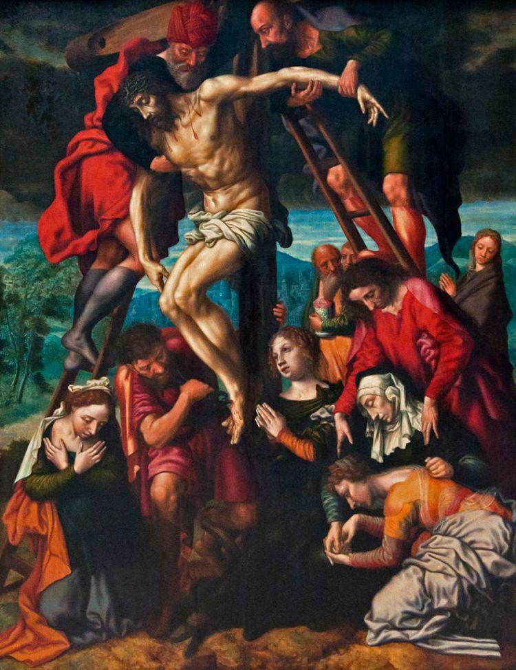 Jan Sanders van Hemessen, Der kruisafneming