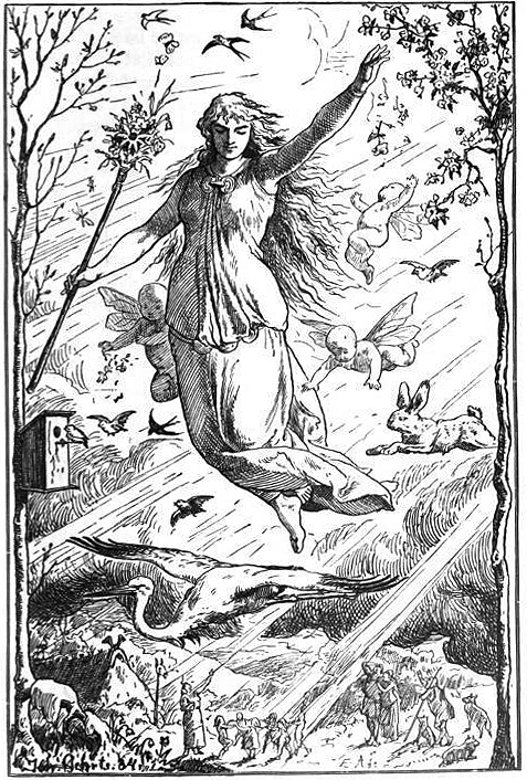 Ostara, Johannes Gehrts