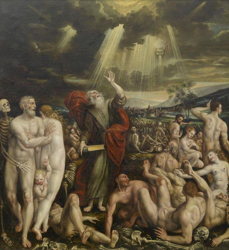Quinten Massys, Vision of the Prophet Ezekiel