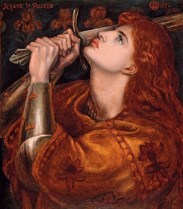 Rossetti, Joan of Arc