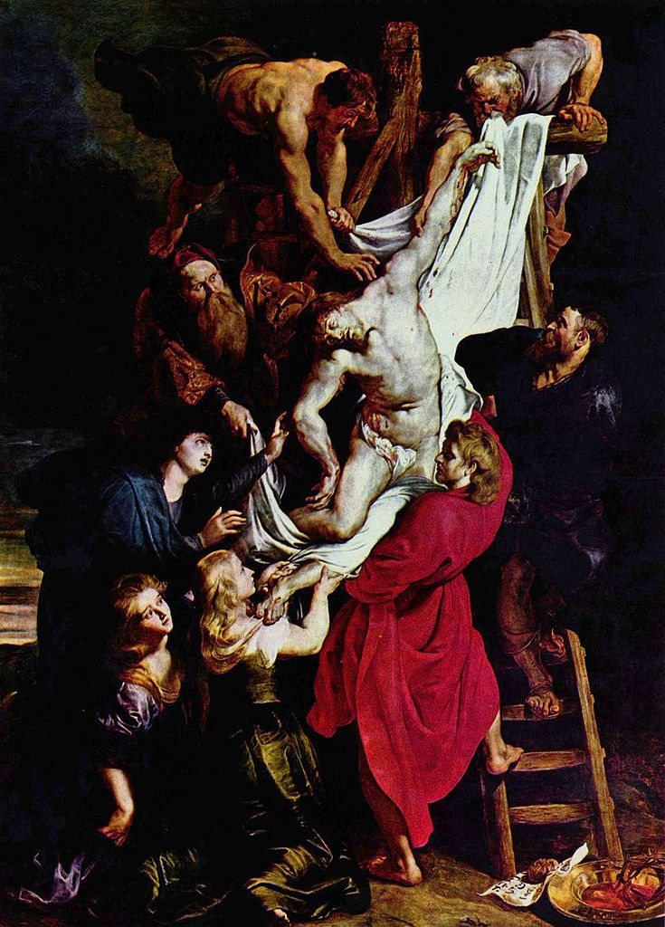 Rubens, the descent from the cross