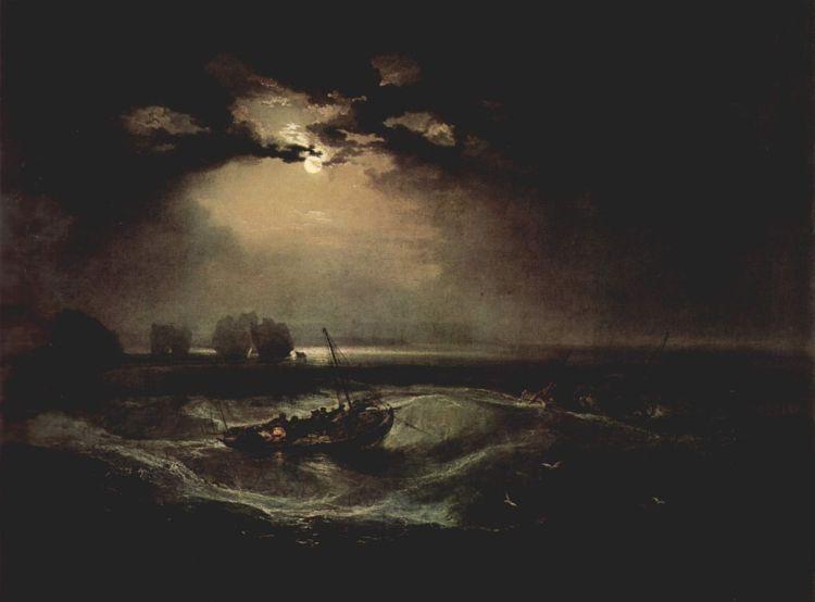Turner, Fishermen at Sea