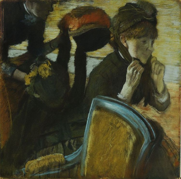 Degas, At the Milliner's