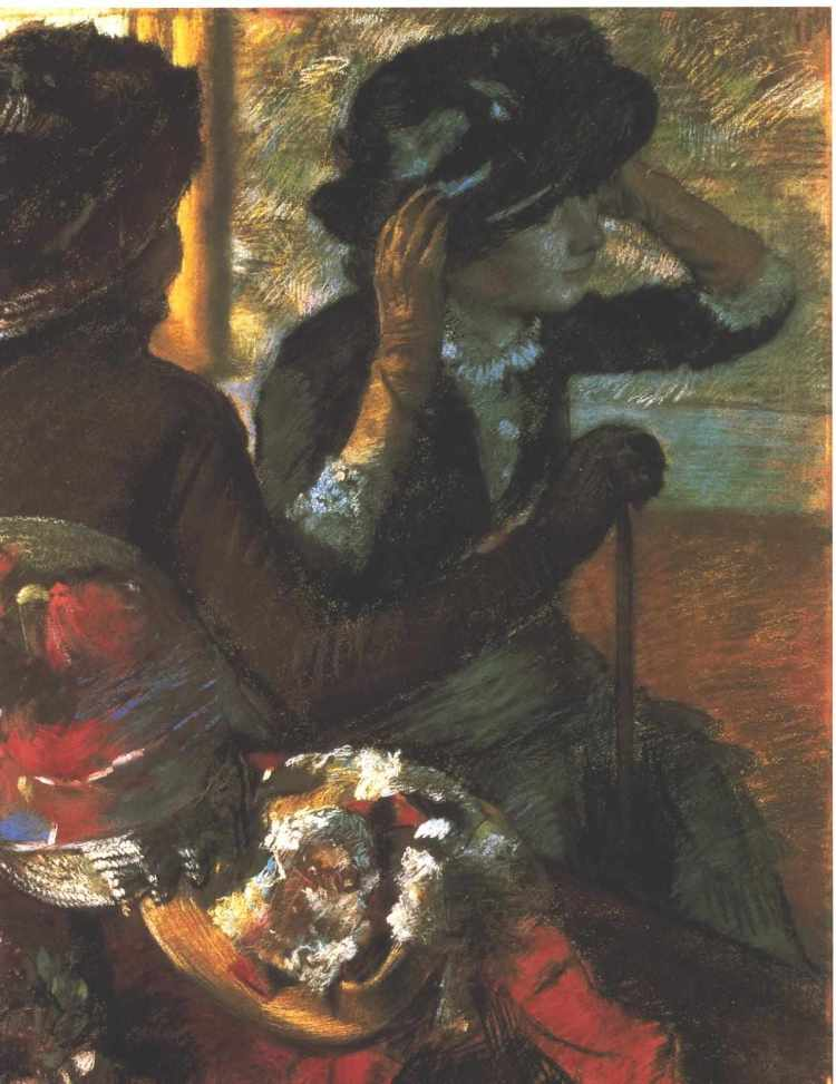 Degas, At the Millinery