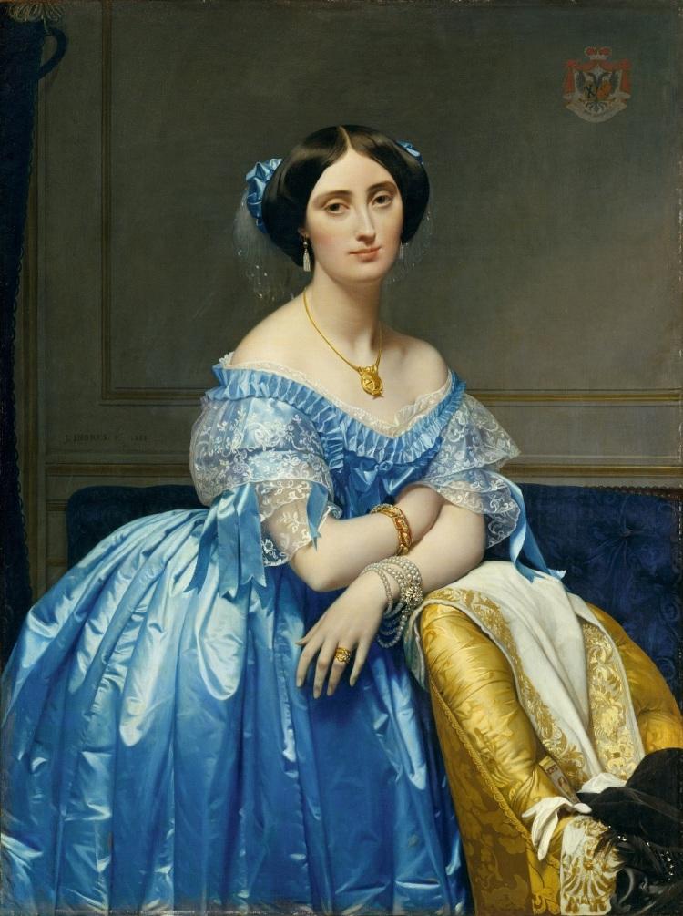 Ingres, Joséphine-Éléonore-Marie-Pauline de Galard de Brassac de Béarn