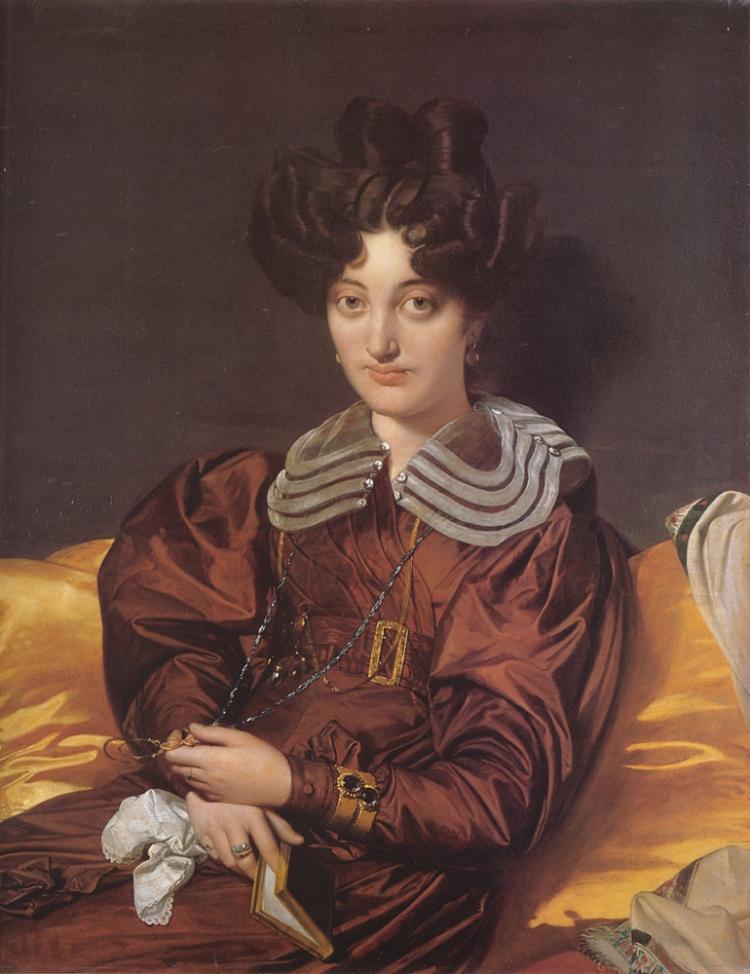 Ingres, Marie Marcotte