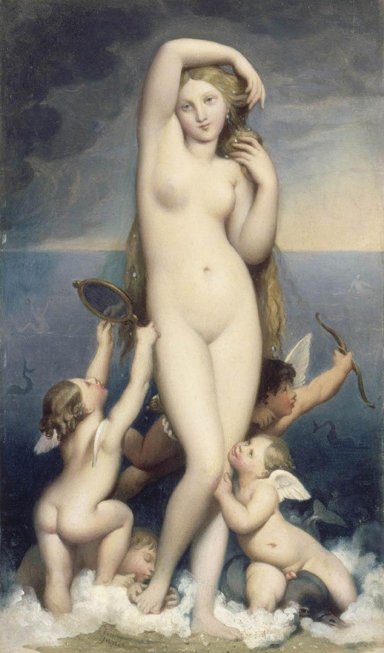 Ingres, Venus Anadyomène