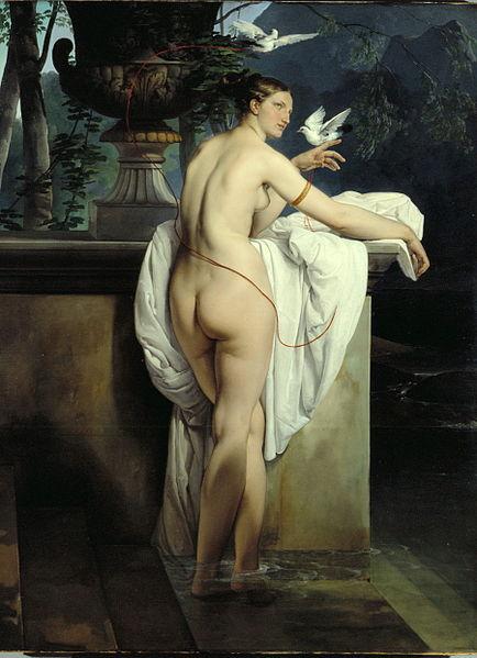 Francesco Hayez, Ballerina Carlotta Chabert as Venus