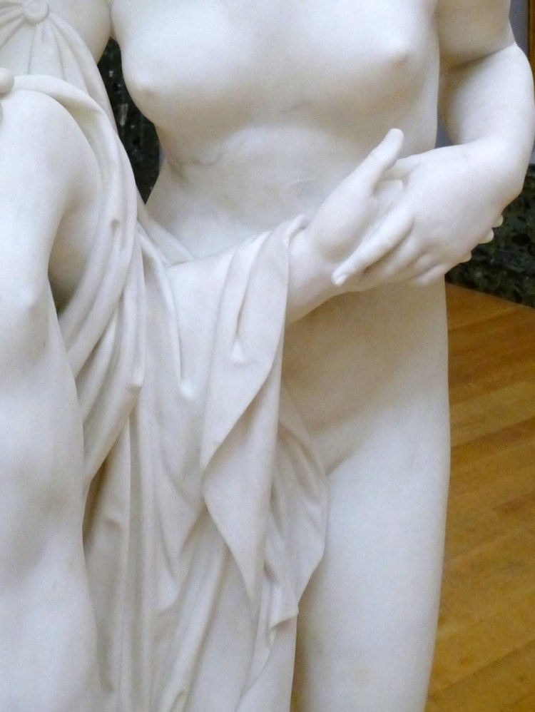 Hylas surprised by the Naiades 12, the drape of the cloth