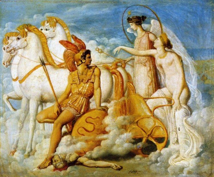 Ingres, Venus Diomede