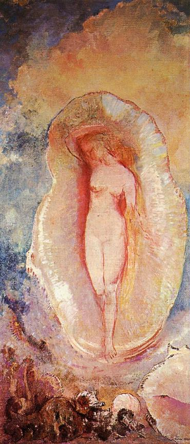 Odilon Redon, the Birth of Venus