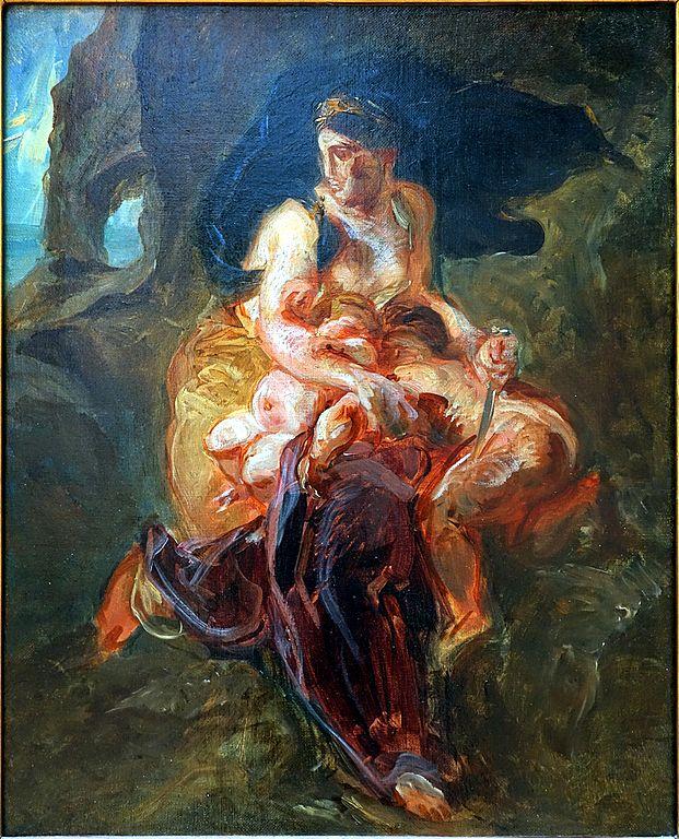 Eugene Delacroix, Medea