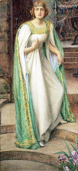 Henry Meynell Rheam, the Lady of Shalott