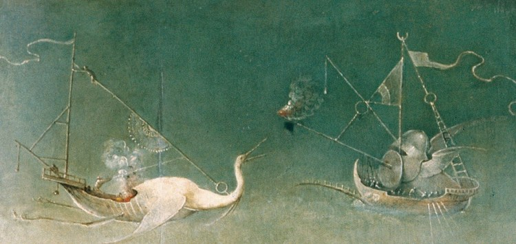Hieronymus Bosch, The Temptation of St Anthony, detail 3