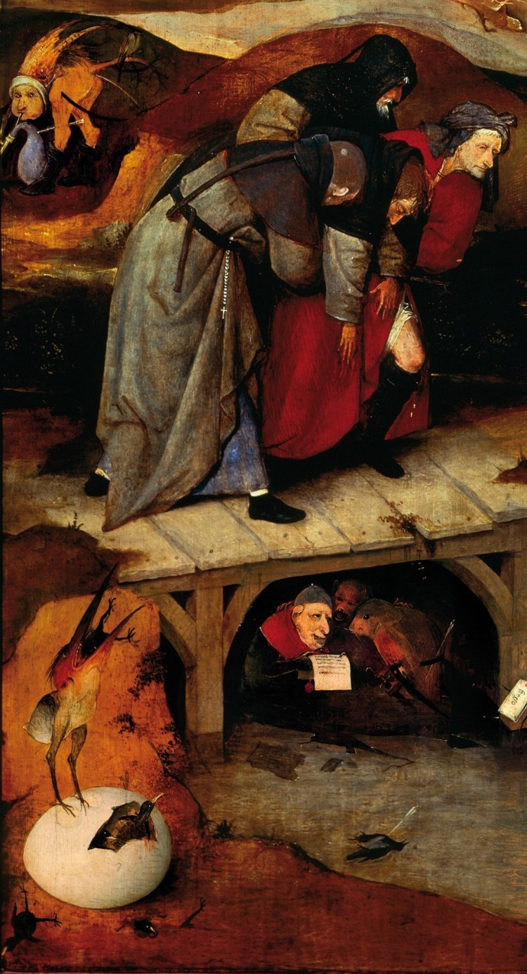 Hieronymus Bosch, The Temptation of St Anthony, detail 5