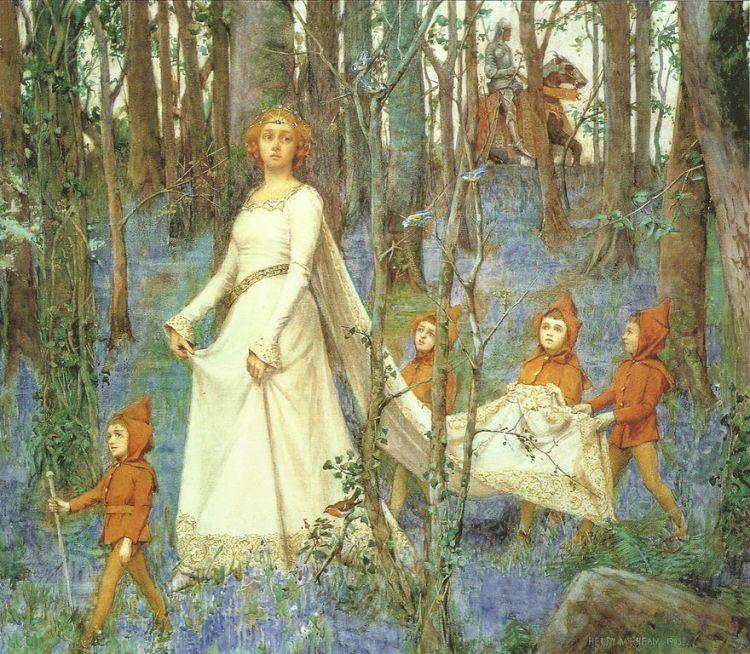 Rheam, the fairy wood