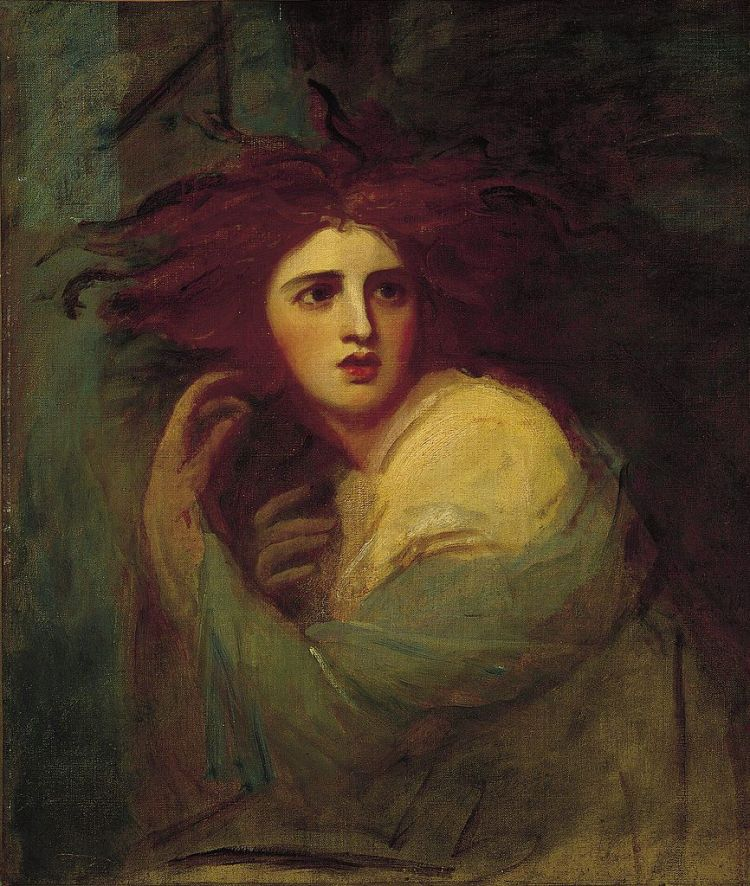 Romney, Lady Hamilton as Medea