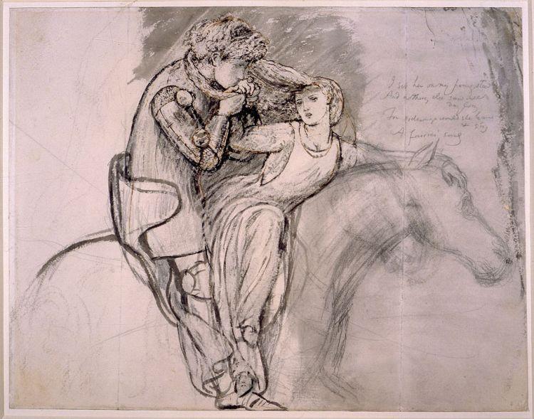 Rossetti, la belle dame sans merci