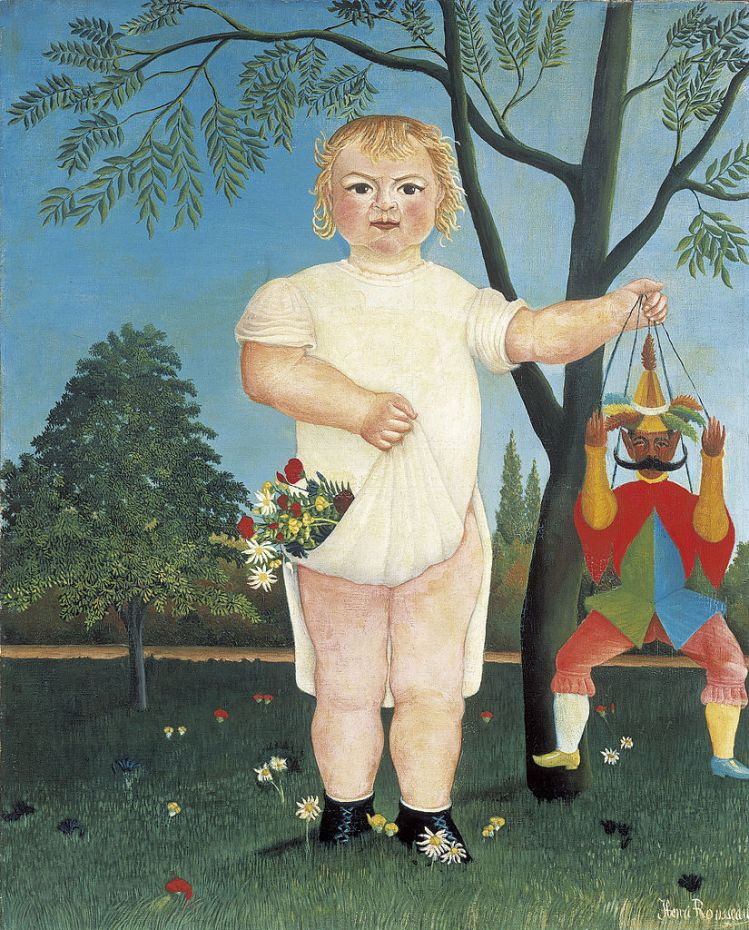 Rousseau, celebrating childhood