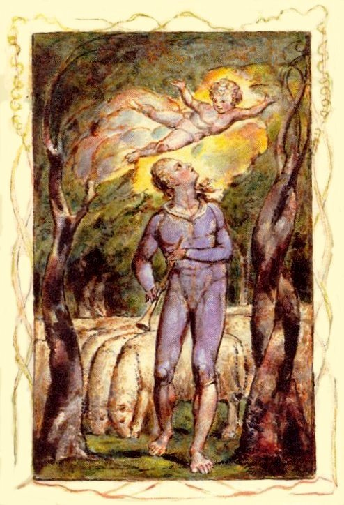 Blake, Songs of Innocence frontispiece