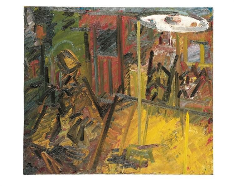 Frank Auerbach, Interior Vincent Terrace