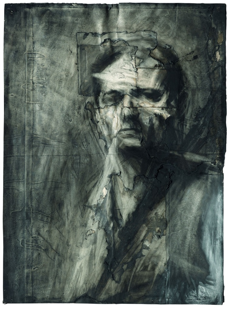 Frank Auerbach self portrait 1958