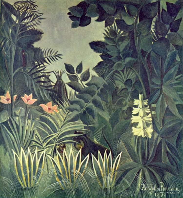 Rousseau, Jungle at the Equator
