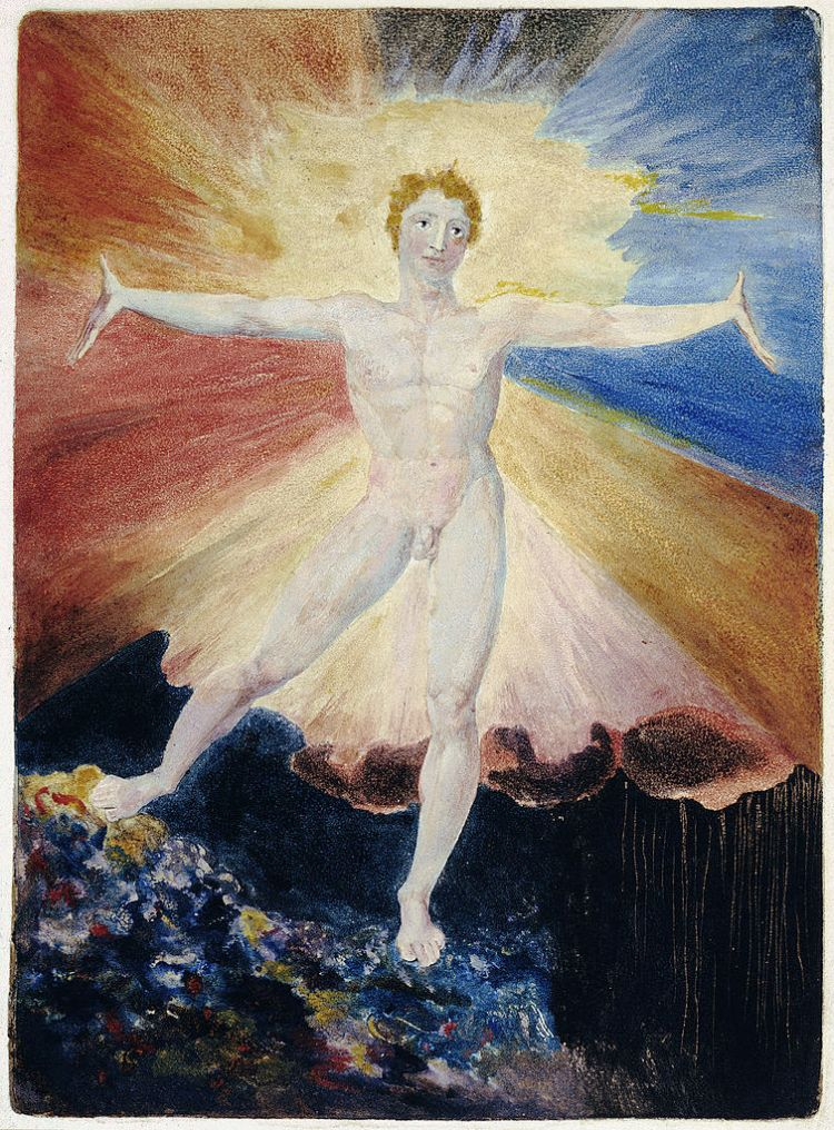 William Blake, Albion Rose
