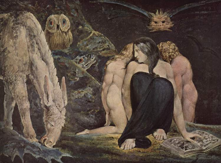 William Blake, Hecate