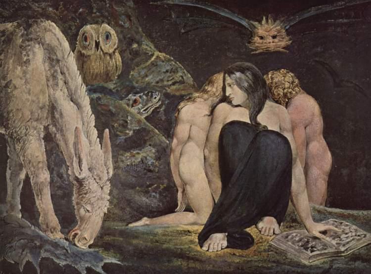 William Blake, Hecate