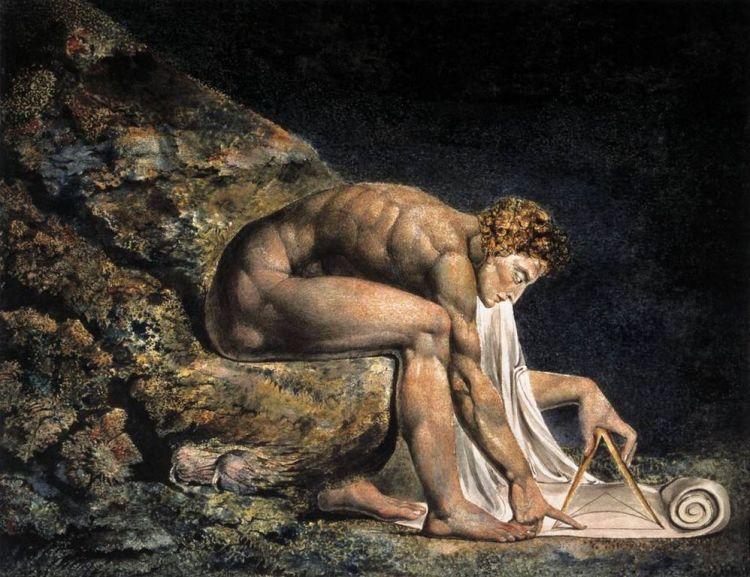 William Blake, Isaac Newton