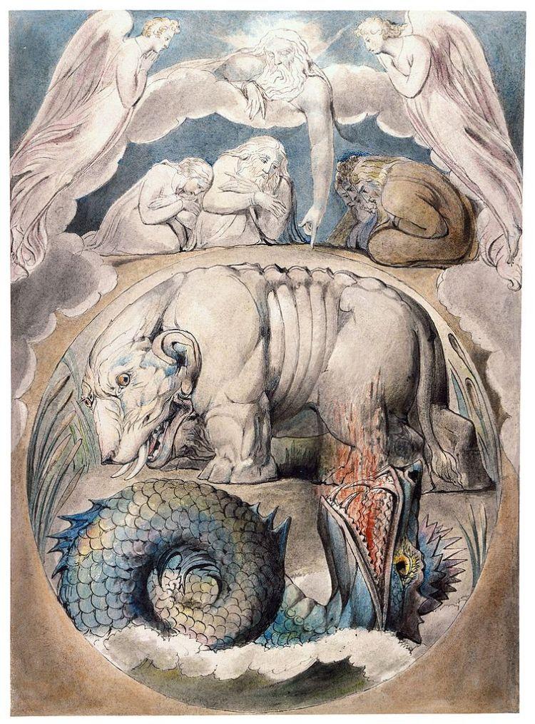 Blake Behemoth and Leviathan