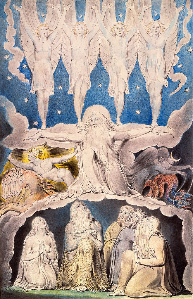 Blake, when the morning stars sang together