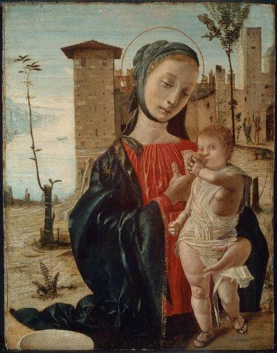 Bramantino, Madonna del latte