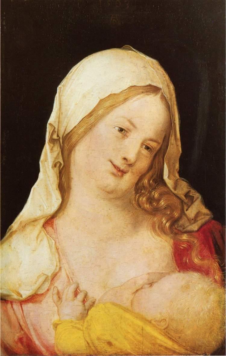 Durer, Maria mit dem Kind