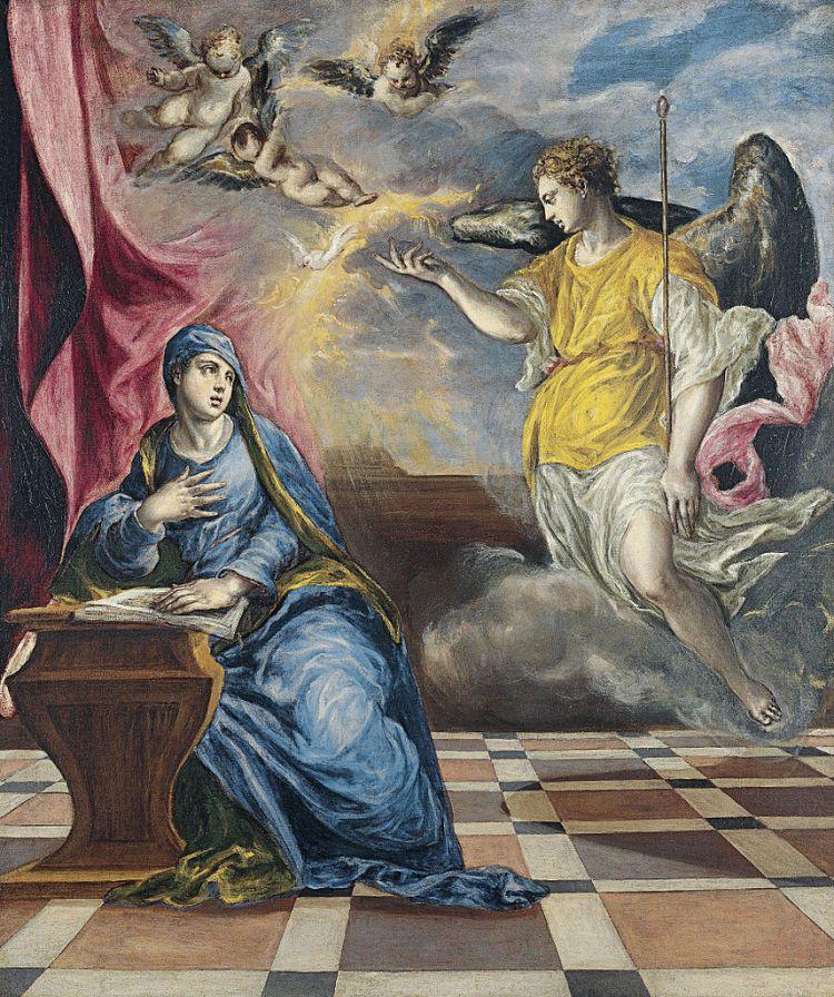 El Greco, Annunciation