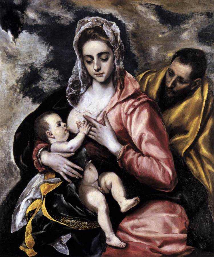 El Greco, The Holy Family