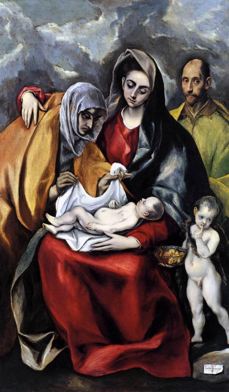 El Greco, The Holy Family