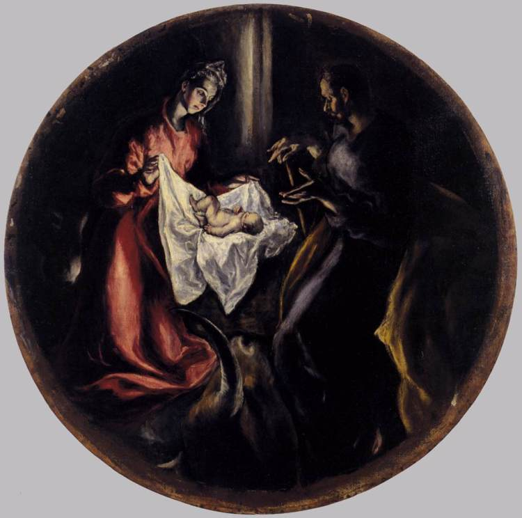 El Greco, The Nativity