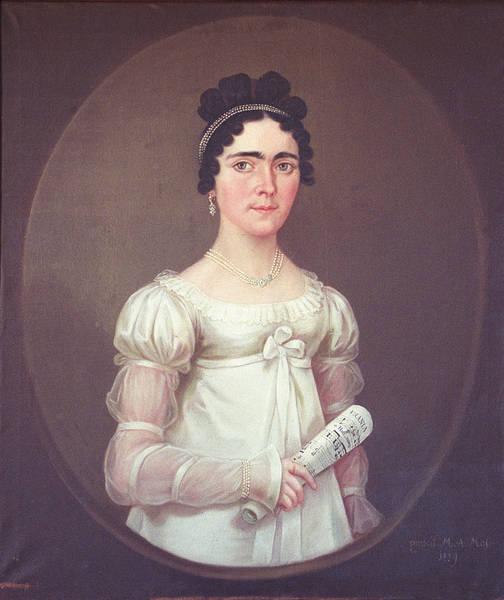 Maria Anna Moser, Portrait of Victoria, Grafin Tannenberg